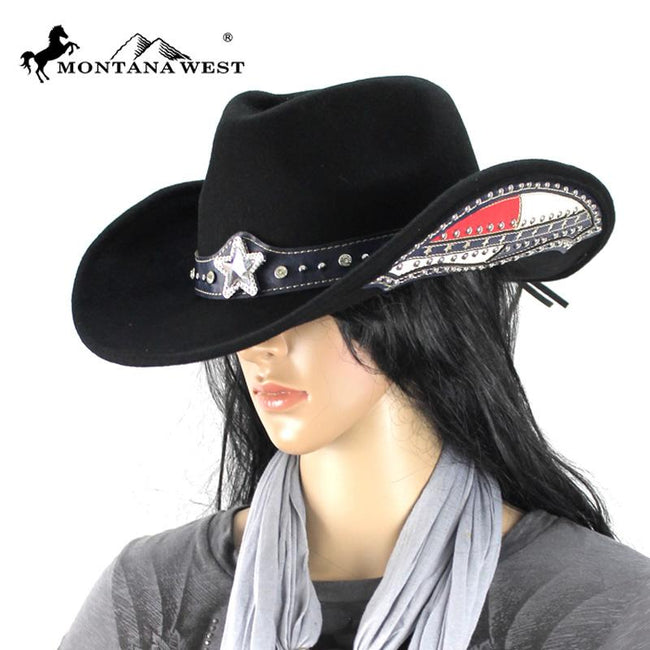 CHT-9021 Montana West Cowgirl Collection Hat
