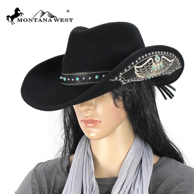 CHT-9023 Montana West Cowgirl Collection Hat