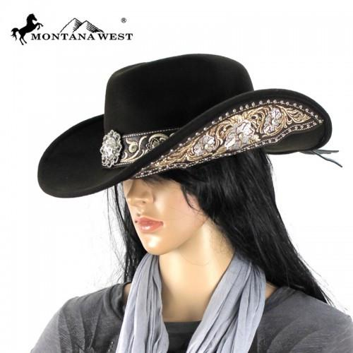 CHT-9025 Montana West Cowgirl Collection Hat