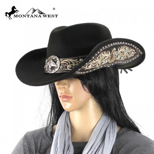 CHT-9026 Montana West Cowgirl Collection Hat