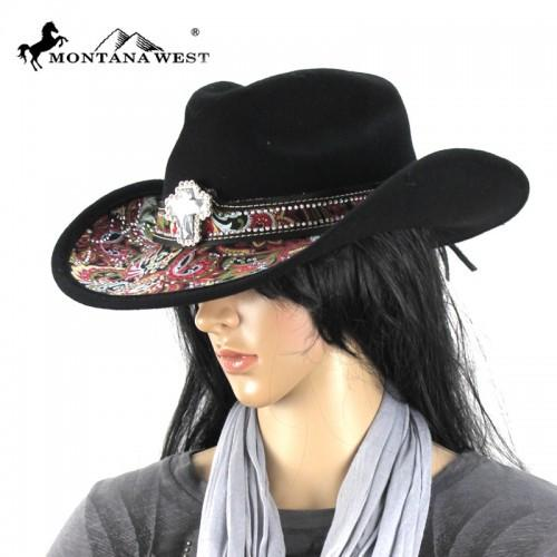 CHT-9031 Montana West Cowgirl Collection Hat