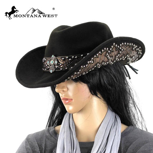 CHT-9032 Montana West Cowgirl Collection Hat