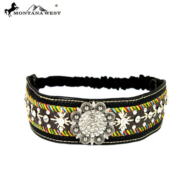 HB-020 Montana West Embroidered Collection Headband