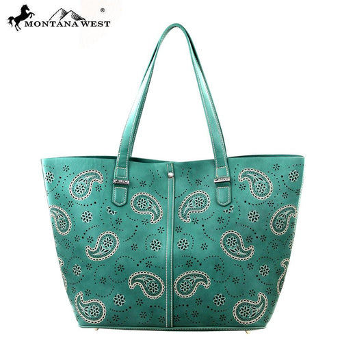 MW209-8317 Montana West Paisley Collection Handbag