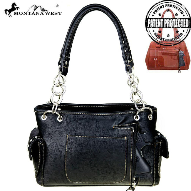 MW456G-8085  Montana West Tribal Collection Concealed Carry Satchel