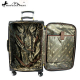 MW511-L1/2/3 Montana West Lone-Star Collection 3 PC Luggage Set -Tan