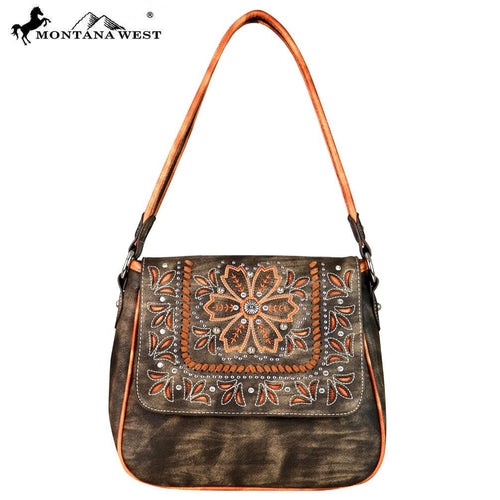 MW595-8291 Montana West Embroidered Collection Hobo
