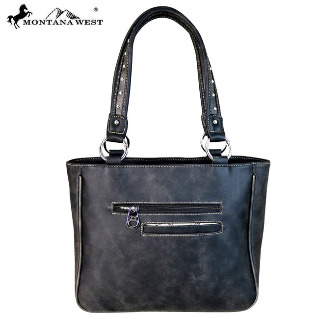 MW614-8239 Montana West Buckle Collection Tote