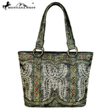MW643-8014 Montana West Embroidered Collection Tote Bag