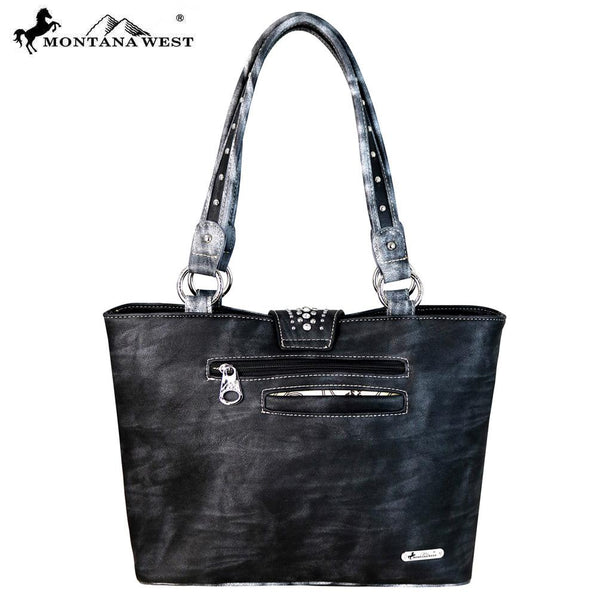 MW656-8317 Montana West Buckle Collection Tote Bag