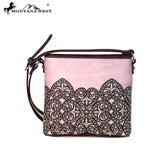 MW669-8360 Montana West Embroidered Collection Crossbody