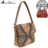 MW754G-916 Montana West Embroidered Collection Concealed Carry Hobo