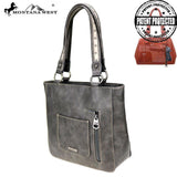 MW783G-8317 Montana West Concho Collection Concealed Carry Tote