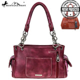 MW784G-8085 Montana West Concho Collection Concealed Carry Satchel