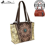 MW784G-8317 Montana West Concho Collection Concealed Carry Tote