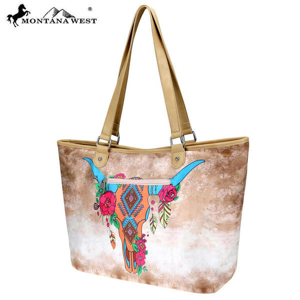 MW800-8581 Montana West Native American Collection Wide Tote