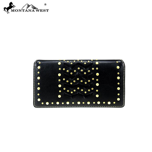 MW818-W010 Montana West Bling Bling Collection Wallet