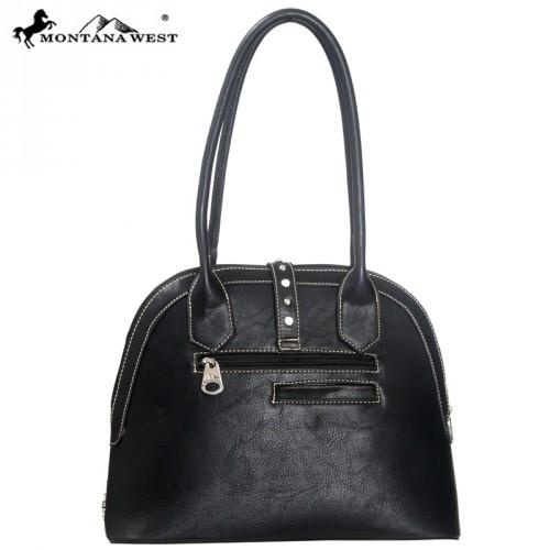 MW82-8557 Montana West Western Buckle Collection Handbag