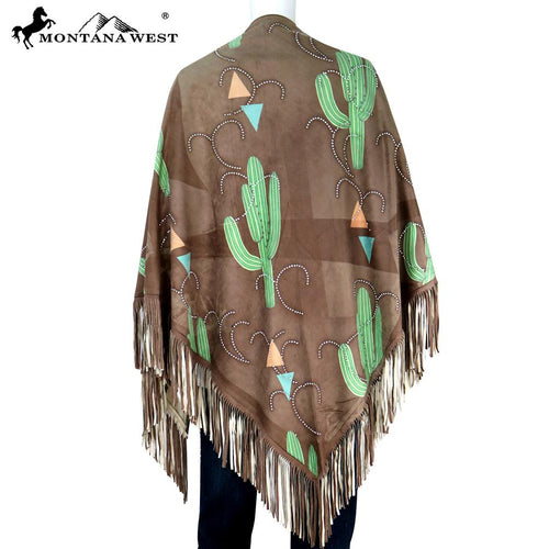 PCH-1665 Montana West Wild West Collection Shawl