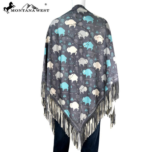 PCH-1668 Montana West Native American Collection Shawl