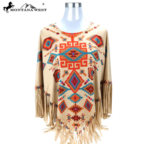 PCH-1675 Montana West Aztec Collection Poncho