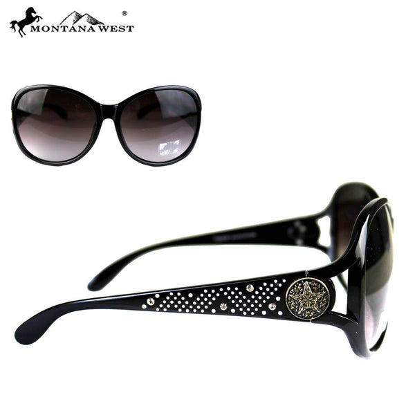 14f50c0553 ... SGS-4605 Montana West Lonestar Concho Collection Western Woman  Sunglasses ...