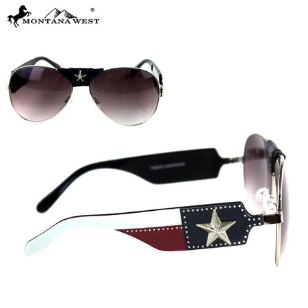 3166a0f20a SGS-4604 Montana West Concho Collection Western Woman Sunglasses ...