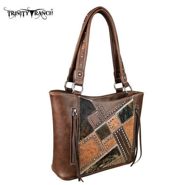 TR51-8304 Trinity Ranch Hair-On Collection Tote Bag