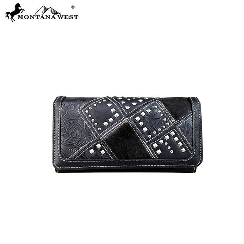 TR51-W018 Trinity Ranch Hair-On Collection Wallet/Wristlet