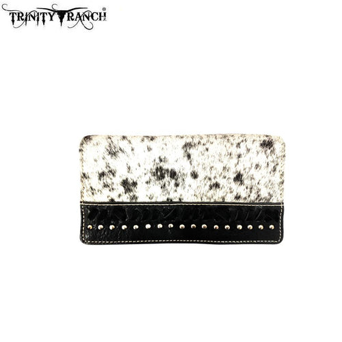 TR87-W010 Trinity Ranch Hair-On Collection Secretary Style Wallet
