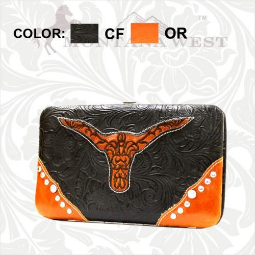 TXLH-W007 Montana West Texas Pride Collection Wallet