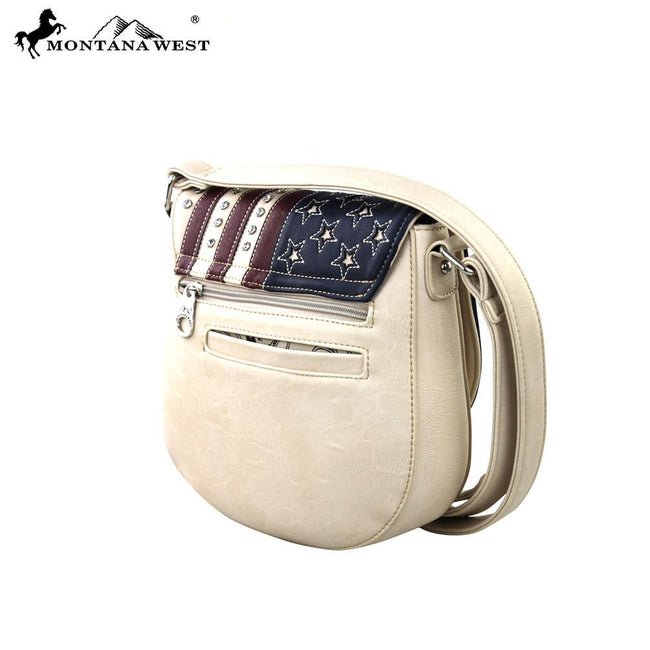 US02-8287 Montana West American Pride Collection Messenger Bag