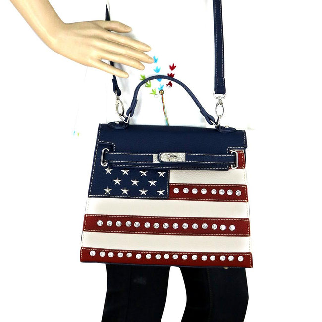 US20-812 Montana West American Pride Collection Sacthel/Crossbody
