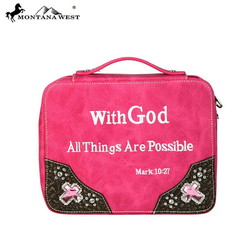 VS-DC001 Montana West Scripture Bible Verse Collection Bible Cover