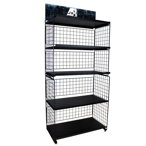 WST-AB01 American Bling Pre-pack Set Metal Display Rack