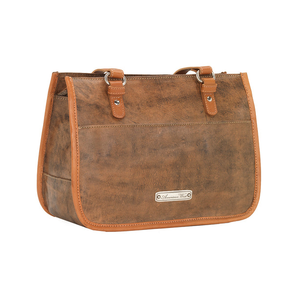 American West Las Cruces Multi-Compartment Zip Top Tote