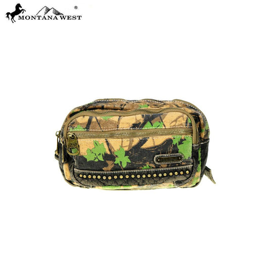 CSW01-7006 Montana West Camo Stone Washed Canvas Travel Bag Collection Waist Bag