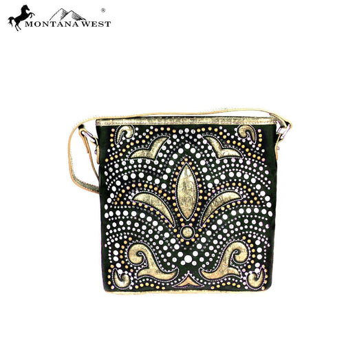 MW406-8287 Montana West Bling Bling Collection Crossbody Bag