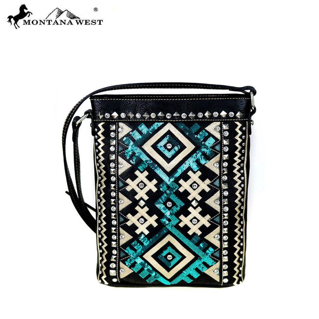 MW456-8287 Montana West Tribal Collection Crossbody