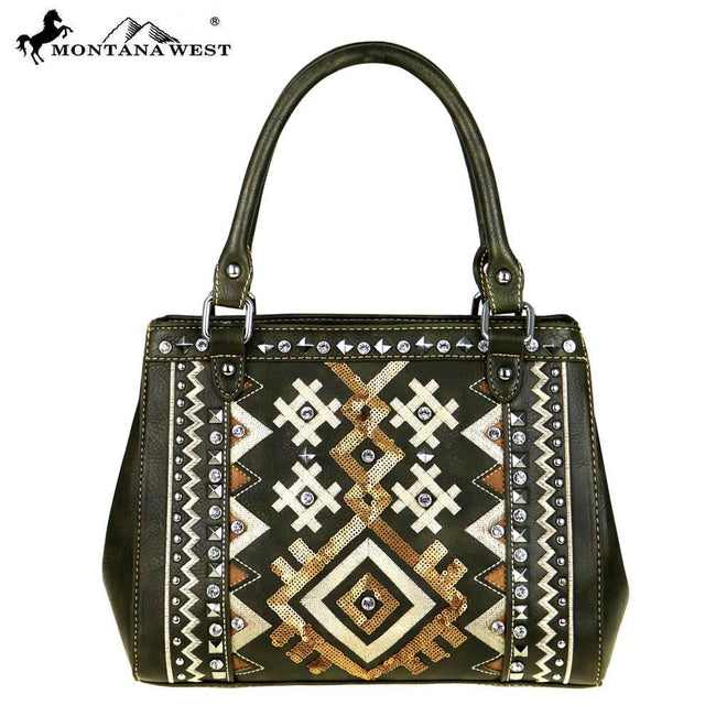 MW456-8392  Montana West Tribal Collection Mini Tote