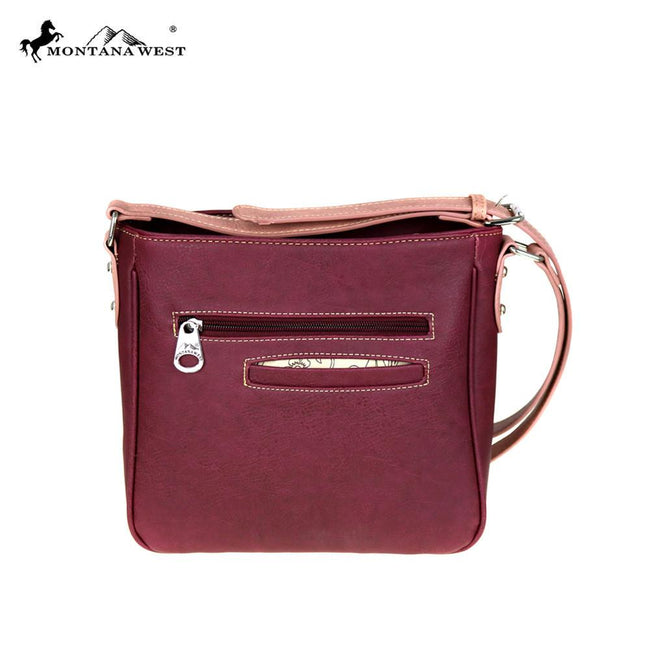 MW468-8360 Montana West Embroidered Collection Crossbody Bag