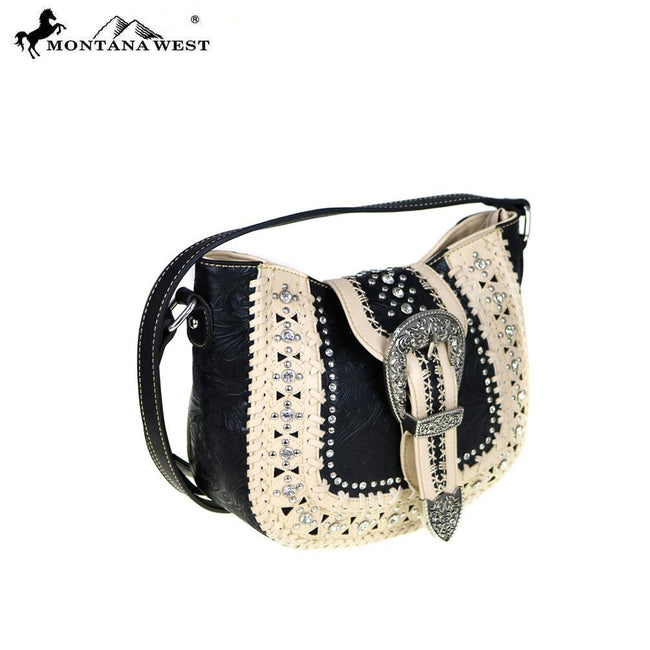 MW476-8360 Montana West Buckle Collection Crossbody