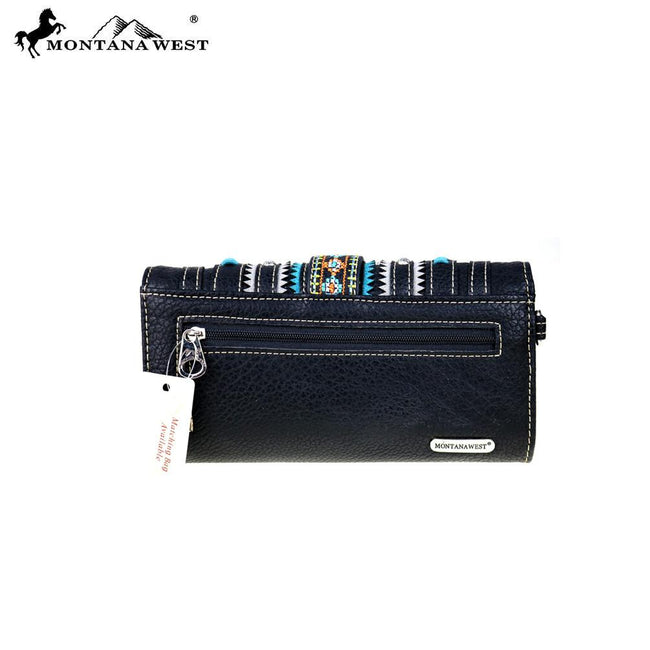 MW507-W002 Montana West Buckle Collection Wallet