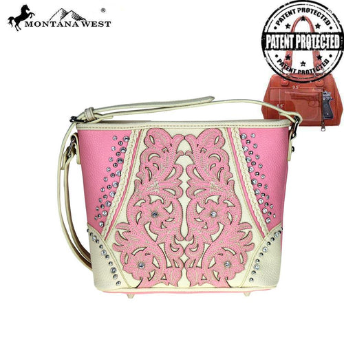 MW508G-8287 Montana West Concealed Handgun Crossbody Bag