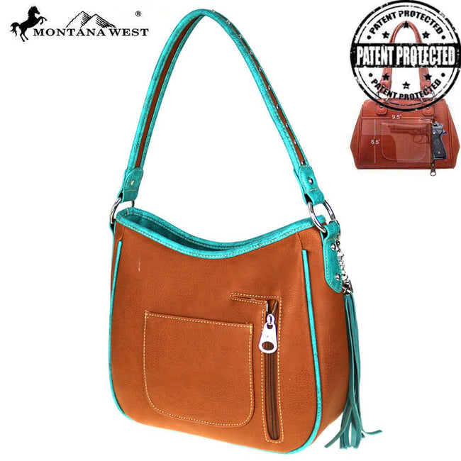 MW513G-116 Montana West Concho Collection Concealed Handgun Collection Hobo