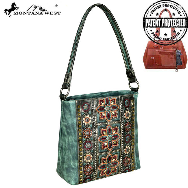MW534G-121 Montana West Concho Collection Concealed Handgun Hobo