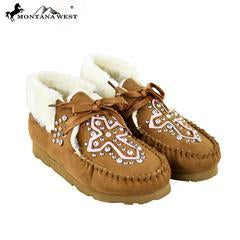 SBT-004 Montana West Moccasins Spiritual Collection- By Case