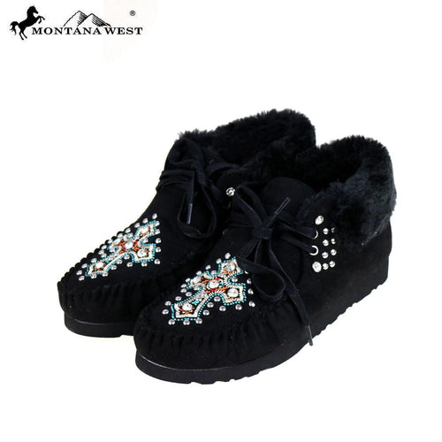 SBT-009 Montana West Moccasins Spiritual Collection By Case