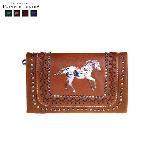 TPP02-CLH01 The Trail Of Painted Ponies Collection Clutch