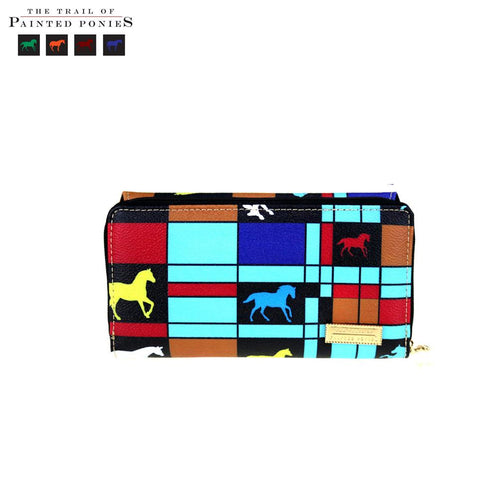 TPP03-W010 The Trail Of Painted Ponies Collection Secretary Style Wallet